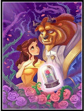 Beauty & The Beast #2- 5D Diamond Painting Kit