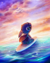 Disney Lilo and Stitch - Surfer - Diamond Painting Kit