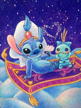 Disney Lilo and Stitch - Aladdin - Diamond Painting Kit