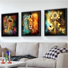Starsign Libra Zodiac Collection - 5D Diamond Painting Kit