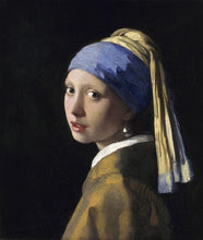 Girl with a pearl earring - 5D Diamond Painting Kit - 25x25cm
