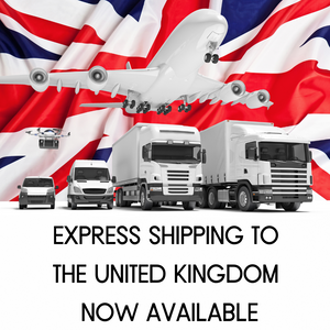 Express Shipping Now Available to the United Kingdom