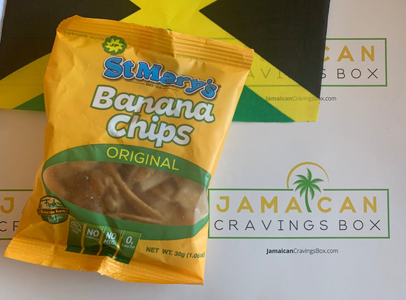 Jamaican St. Mary's Banana Chips