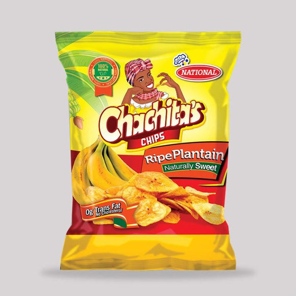 jamaican cravings box  National Chachitas Ripe Plantain Chips