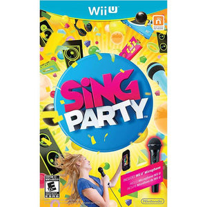 JUEGO WII U PARTY W MICROPHONE