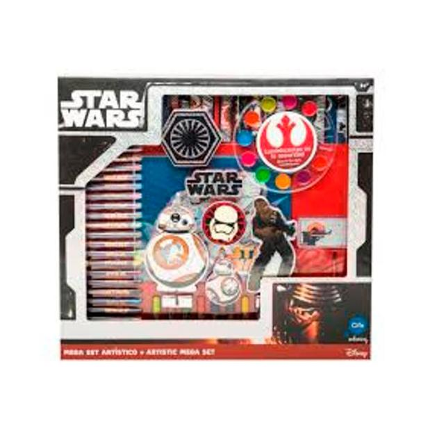 MEGA SET ART. HOLOGRAFICO STAR WARS