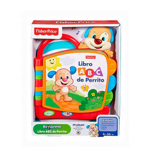 FISHER PRICE RÍE Y APRENDE LIBRO ABC DE