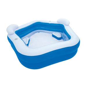 PISCINA INFLABLE FAMILIAR 7'X6.8'X27""