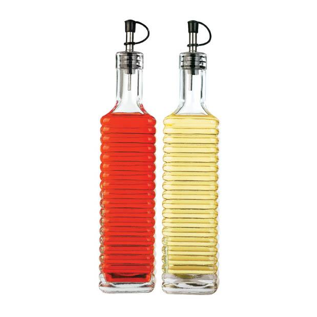 SET DE 2 BOTELLAS DE ACEITE