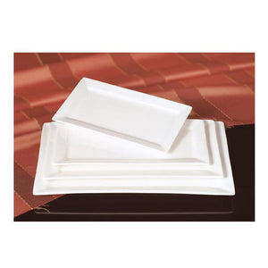 PLATO RECTANGULAR D/PORCELANA 10¨