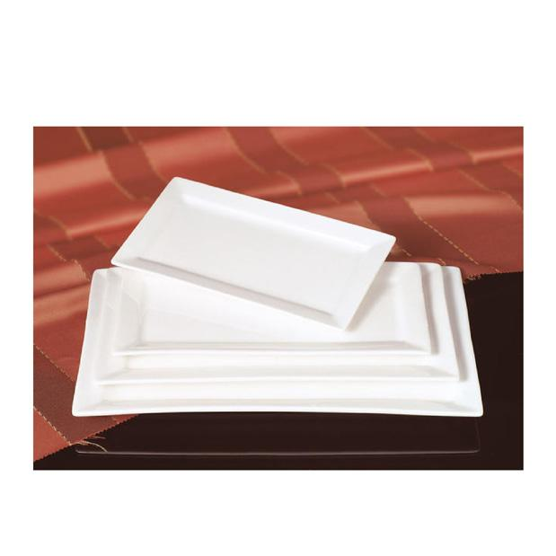 PLATO RECTANGULAR D/PORCELANA