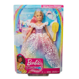 BARBIE PRINCESA VESTIDO BRILLANTE