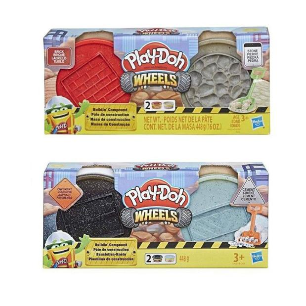 PLAY DOH SET DE 2 TARROS