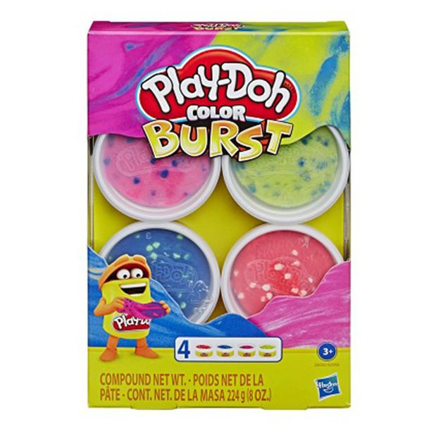 PLAY DOH PAQUETE DE 4 MINI TARROS