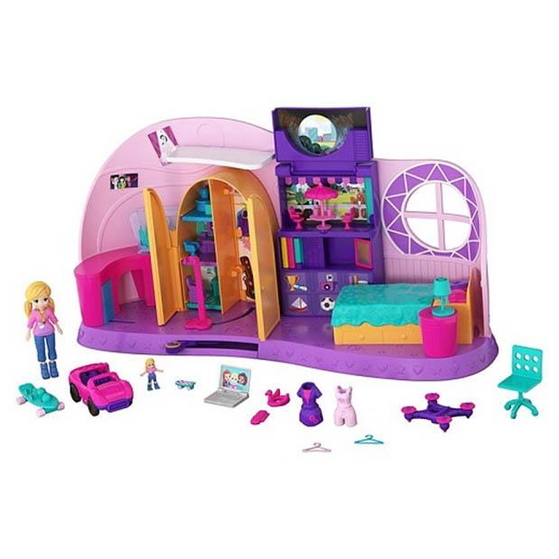 POLLY POCKET HABITACION DE TINY