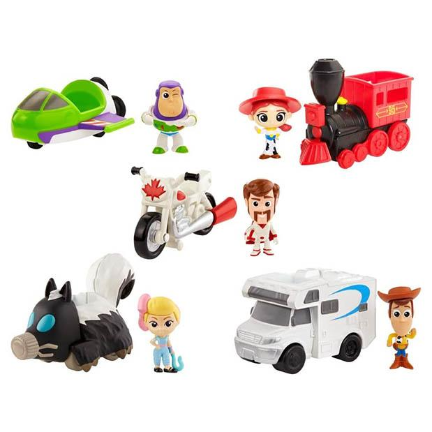 TOY STORY MINI FIGURAS CON VEHICULO