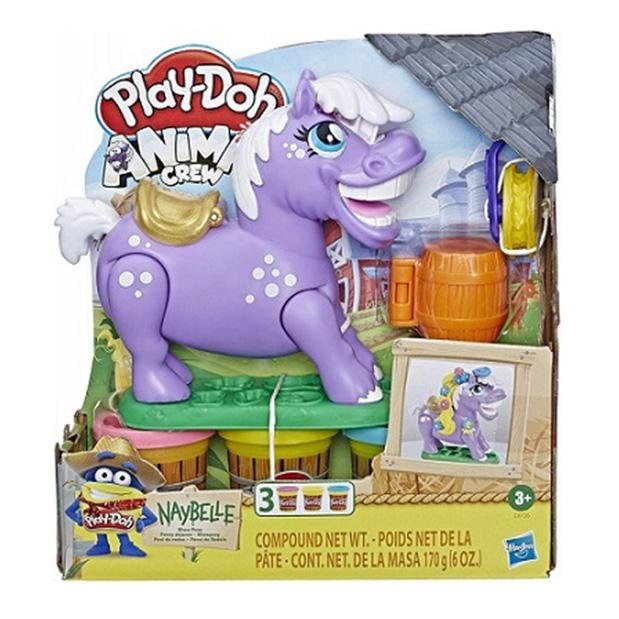 PLAY DOH ANIMAL CREW NAYBELLE PONI DE RO