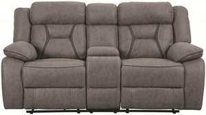 SILLON RECLINABLE HIGGINS 2 PERS. GRIS