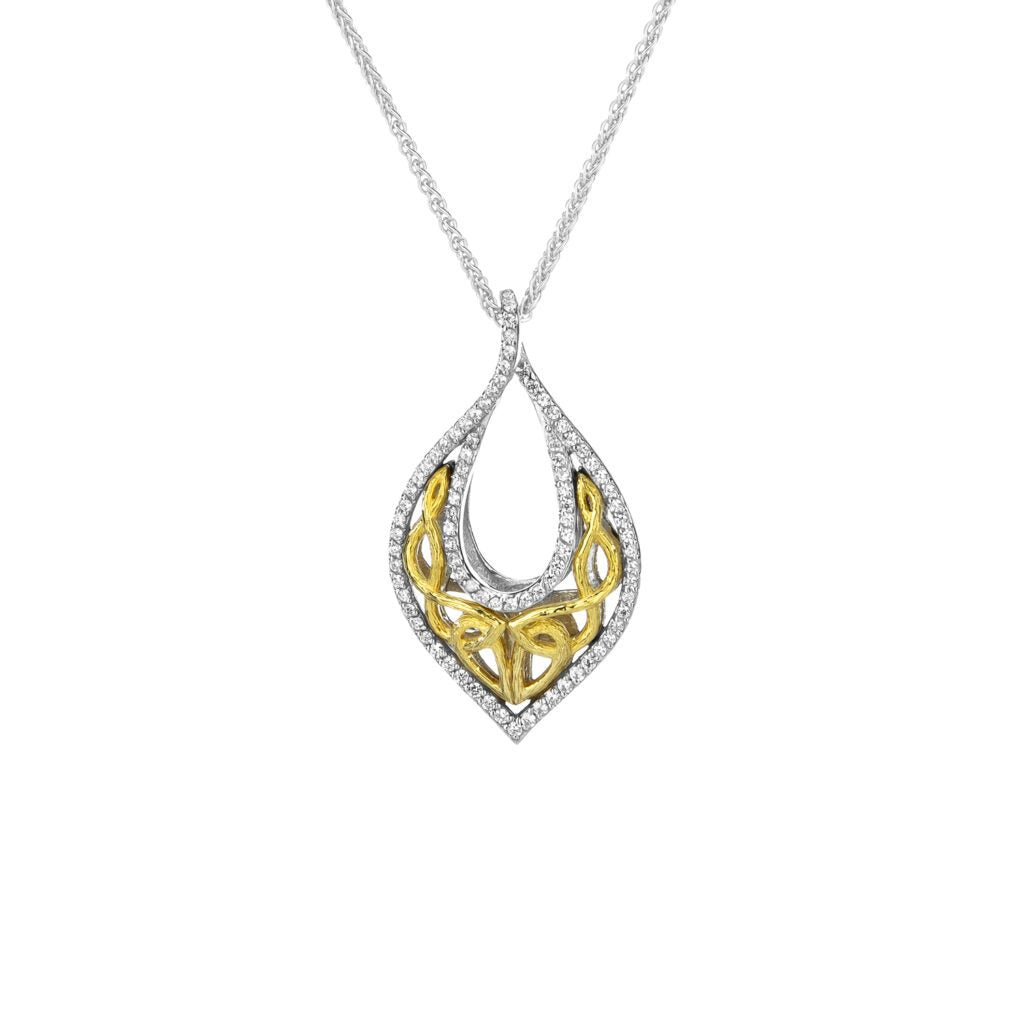Sterling Silver / Dark Rhodium Necklace