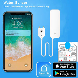 Smart Home Wireless Water Leak Detector
