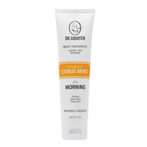 Citrus Mint (Morning) Toothpaste - 6 Units