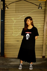 "三ツ目髑髏の呪い S/S Tee ""Curse of three eyes skull S/S Tee"""