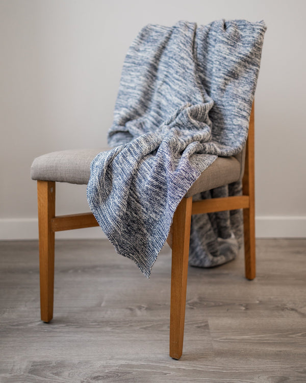 Brayden Organic Cotton Knit Throw - YaYa & Co.