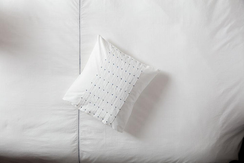 Brooke Hand Embroidered Pillow Cases - YaYa & Co.