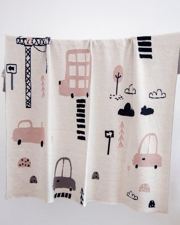 Coupe Organic Cotton Kids Throw Blanket - YaYa & Co.