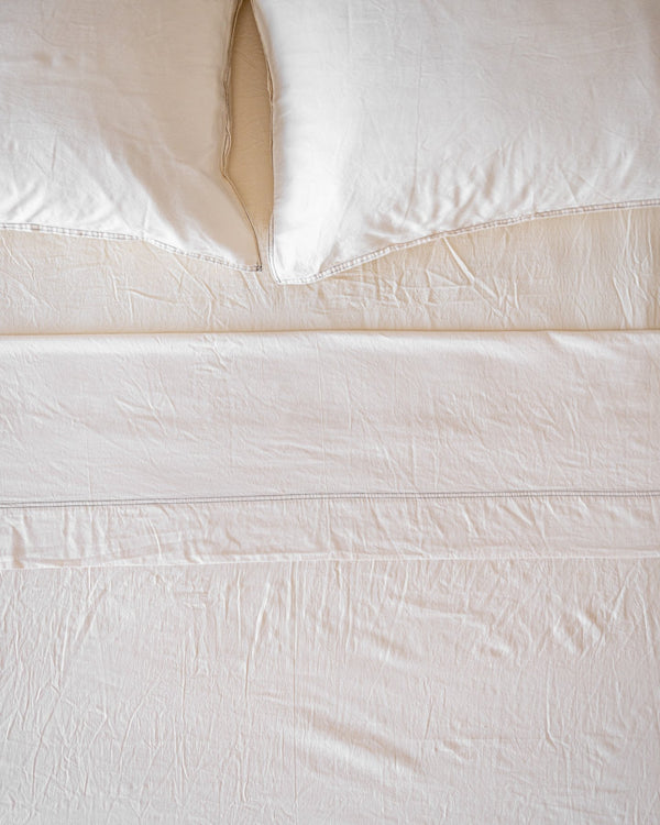 Terra Recycled Cotton Bedding Set - 600 TC - YaYa & Co.