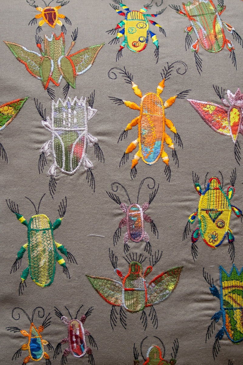 The Beetles Throw Pillow - YaYa & Co.