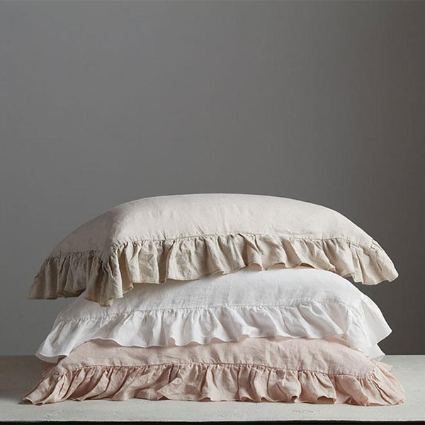 Victoria Organic Belgian Flax Linen Pillowcase Set - YaYa & Co.