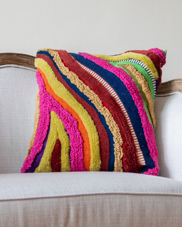 Zola Abstract Throw Pillow - YaYa & Co.