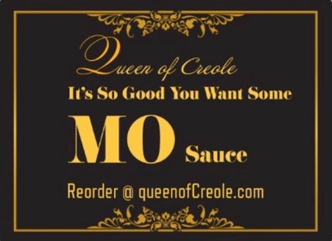 It's So Good You Want Some...  Mo Sauce 8.5oz