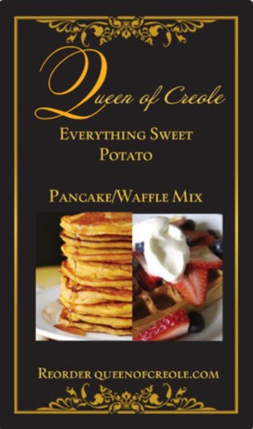 Everthing Sweet Potato- Pancake/Waffle Mix 16oz