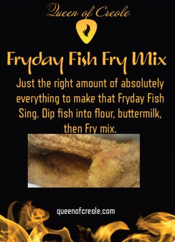 Fryday Fish Fry Mix 1lb
