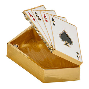 Four Aces Trinket Box