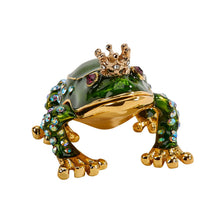Load image into Gallery viewer, Frog Prince Trinket Box