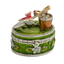 Load image into Gallery viewer, Garden Tools Trinket Box