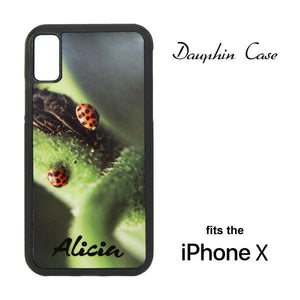 iPhone® X/XS Rubberized Case - Black