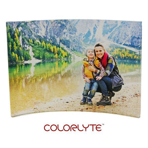 "Acrylic Photo Panel - 5"" x 7"" CURVED - Landscape Only"