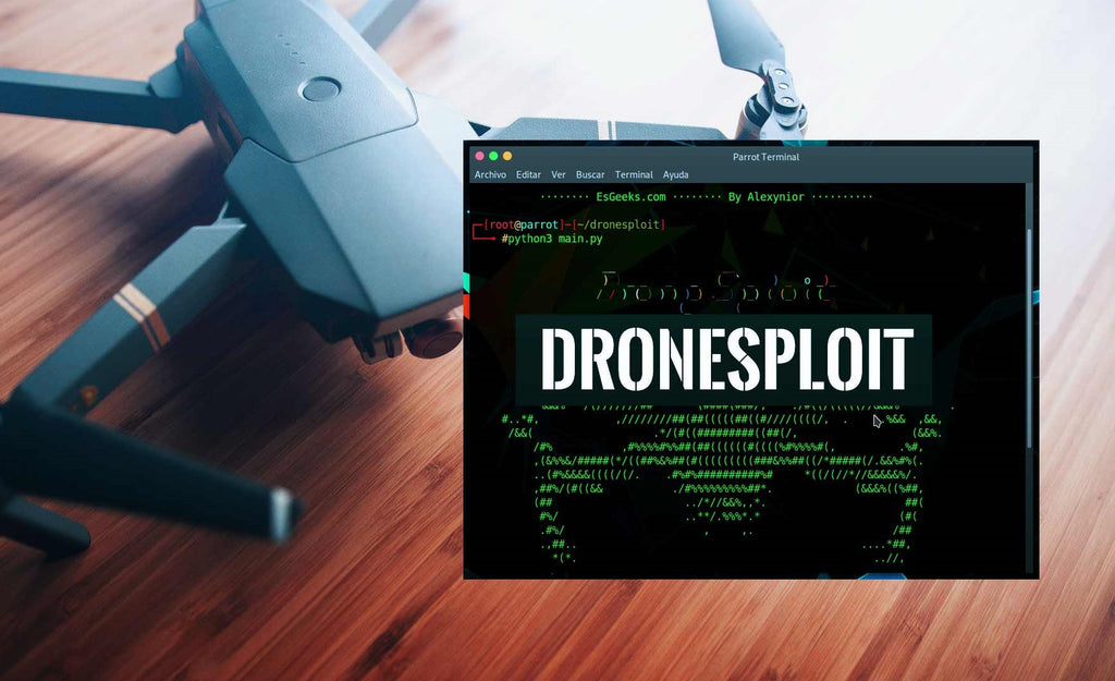 Drone Hacking Tool Analysis: DroneSploit