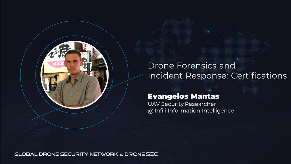 Global Drone Security Network Event #2- Evangelos Mantas(Infili)