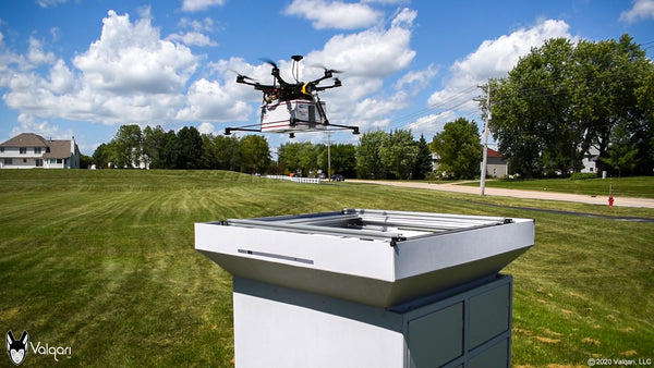 Drone Delivery Industry Leader Valqari selects DroneSec As Drone Security Assurance Partner