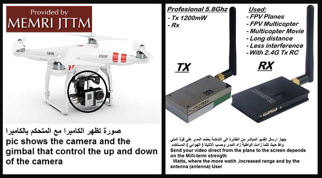 Jihadi Drone Modification