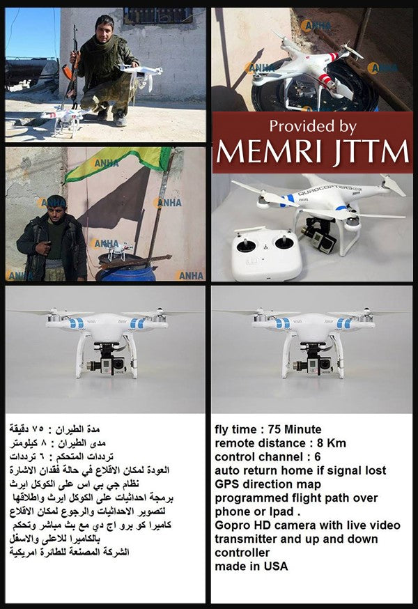 Jihadi Guidelines for Modifying Drones