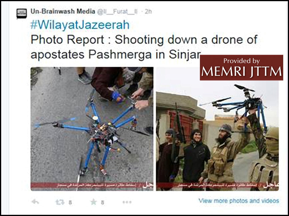 MEMRI Drone Shotdown
