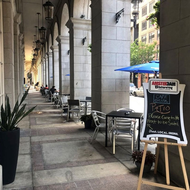 Café Nicole's Patio - Now Open!