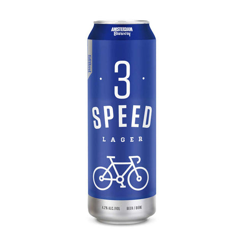 Amsterdam Brewery 3 Speed Lager