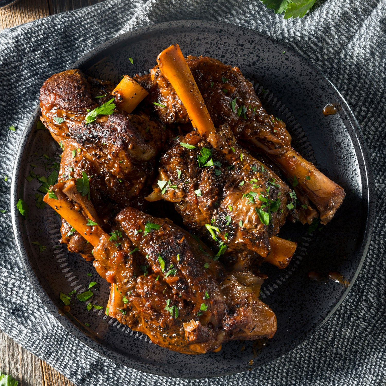 Dec. 19 Weekend Dinner - Slow Cooked Lamb Shank